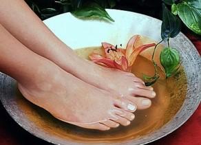 Jalovcová koupel nohou na posílení imunity